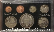 1976 new Zealand 7 coin proof year set