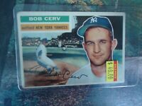 1956 TOPPS BOB CERV NEW YORK YANKEES