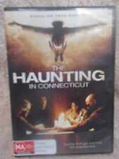 THE HAUNTING IN CONNECTICUT,VIRGINIA MADSEN,KYLE GALLNER, DVD MA R4