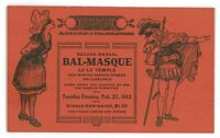 Theatre Advertising Lulu Temple PHILADELPHIA PA Vintage Pennsylvania Postcard