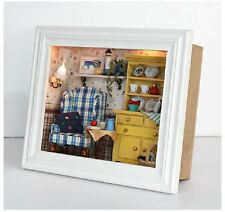Unique Photo Frame Style DIY Handcraft Miniature Dolls House - Wooden Dollhouse