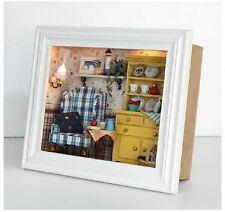 Unique Photo Frame Style DIY Handcraft Miniature Dolls House - Wooden Dollhouse