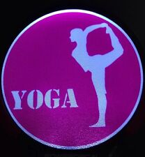 Yoga Light Up Decal Powerdecal Backlit LED Motion Sensing Auto Decal