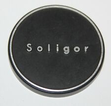 Soligor - Genuine 60mm Metal Slip-On Lens Cap for 58mm Lens Front - vgc