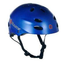 Razor V-17 Youth Multi-Sport Helmet Teen Protection Safety Satin Blue