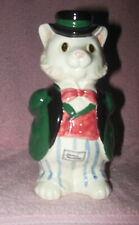 Vntg 1988 Fitz & Floyd Kittens Of Knightsbridge Ceramic Cat Vase Mint