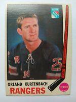 1969-70 OPC O-Pee-Chee #188 Orland Kurtenbach New York Rangers - EX