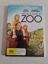 We Bought A Zoo Dvd - Matt Damon Scarlett Johansson - Region 4