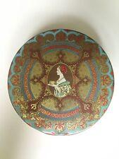 New listing Holiday Tin Vintage Hostes Holiday Fruitcake Tin / Makes a Great Cookie Tin!
