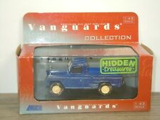 Land Rover Hidden Treasures - Vanguards VA07606 - 1:43 in Box *43549