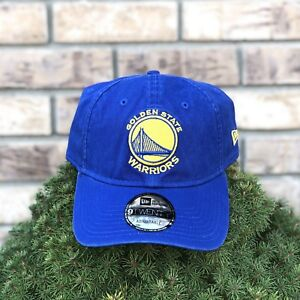 NEW Golden State Warriors New Era 9Twenty Strapback Hat Blue Adjustable Unisex