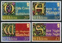 St Helena Christmas Stamps 2012 MNH Carols Silent Night Holy Night 4v Set