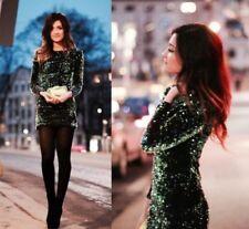 Ropa de mujer Zara color principal verde talla S