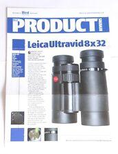 Leica Ultravid 8x32 Binoculars Review Pullout/Print from Bird Watching Magazine