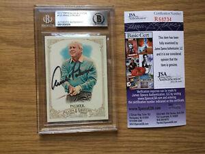 Arnold Palmer Signed Allen & Ginter Card 105 - JSA & Beckett Authenticated