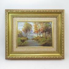 Robert Cochrane Original Signed Oil on Board Painting in Golden Frame Ireland