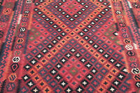Tapis Afghan, Kilim Laine sur laine 262 x 207 cm / Afghan rug,  Kilim wool