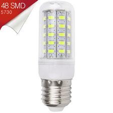 Bombilla Mazorca LED E27 48 SMD 5730 360º Blanco Puro 110-240V - Consumo 12W