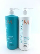 Moroccan oil Extra Volume Shampoo And Conditioner Liter Duo 33.8oz Free Shipping