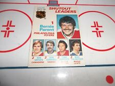 1978-79 OPC SHUT OUT LEADERS BERNIE PARENT KEN DRYDEN CLEAN CARD