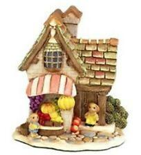 New Pendelfin Village Mini Fruit Shop Stoneware Rabbit Town 5028743338001