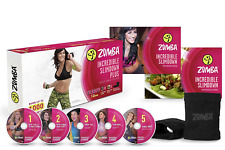 Zumba Fitness Incredible Slimdown Dance Dvd System Home Body Workout Exercise