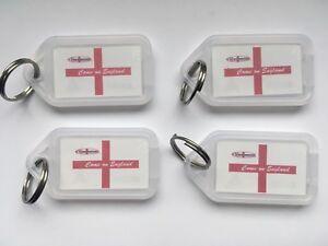 100 England Key Rings