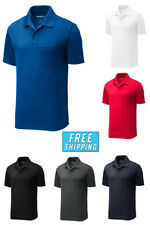 Sport Tek Dri-Fit Performance Polo w/ Pocket Golf Casual