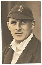 1935 Test Match Favourites Laurence Fishlock Surrey England Postcard