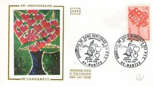 FDC - FRANCE 1716 - 20 EME ANNIVERSAIRE DE L'UNDSBPTT
