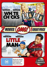 White Chicks  / Little Man (DVD, 2007, 2-Disc Set) - Shawn WAYANS - R4 DVD