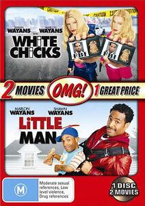 White Chicks  / Little Man (DVD, 2007, 2-Disc Set) Free Post