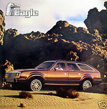1985 Eagle sedan/wagon new vehicle brochure