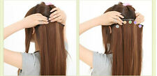 """Clip-In 6 Piece Extension Set 18/20"""" Remy Silky Sexy Human Hair Special Price!"""