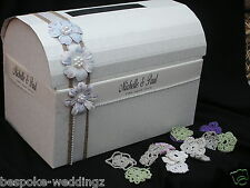 Wedding Chest Post Box XL Wishing Well Shabby Chic Vintage favorisce caratteristica principale
