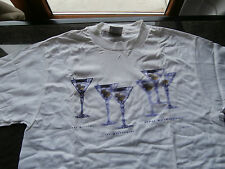 "T-Shirt uomo vintage MINC."" MARTINI by Paul Dolan "" rare ONEITA rara anni '90"