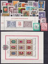 kompletter Jahrgang Österreich 1976 postfrisch**