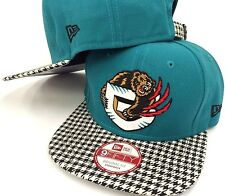 Vancouver Grizzlies New Era 9Fifty 950 Checkered Plaid Strapback Fit Cap Hat