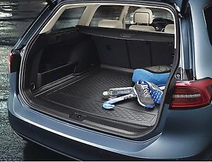 Genuine VW Passat Wagon & Alltrack Cargo Liner Boot Mat Protector B8 (2016-ON)