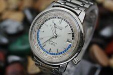 Vintage 1964 SEIKO World Time 6217-7000 Automatic Diashock 17j Tokyo Olympics