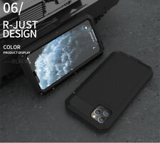 WATERPROOF SHOCKPROOF METAL GORILLA GLASS Full Cover Case for iPhone 11/PRO/MAX