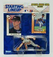 CAL RIPKEN JR. - Baltimore Orioles Starting Lineup MLB SLU 1993 Figure & 2 Cards