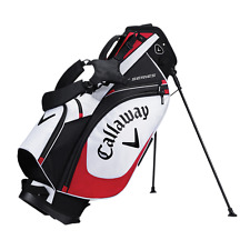 Brand New 2017 Callaway Golf X Series Stand / Carry Bag - White / Black / Red