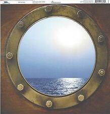 REM - Port of Call Scrapbooking Paper 12x12  CRU-003   Beach Cruise
