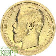 F305/1) RUSSLAND 15 Rubel 1897 - Nikolaus II. 1894-1917 - Gold