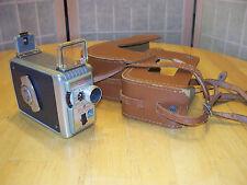 KODAK  BROWNIE 8 mm II INCLUDES collectable display VISTA (Hong Kong) 8mm camera