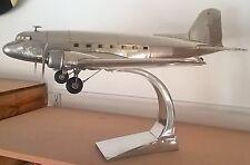AP455 Large Polished Aluminium Dakota DC3 by Authentic Models