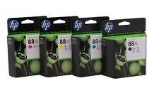 4 x Original Tinte HP OfficeJet Pro K550 K5400dn K8600DN / 88XL C9391AE -C9394AE