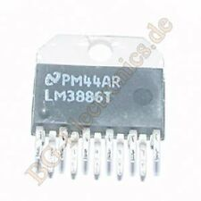 1 x LM3886T The LM3886T is a High-Performance 68W Audio  NS Multiwatt-11 1pcs