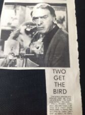 67-3 Ephemera 1974 Picture Actor Freddie Jones Joe's Ark Dennis Potter Play For